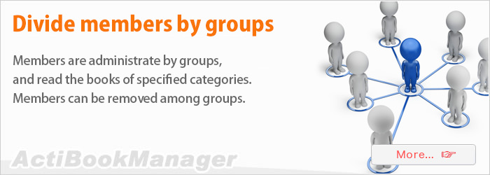 Divide members by groups